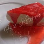 No-Bake No Egg Strawberry Cheesecake