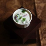 Onion Raita Recipe-A delicious yogurt based sauce made with onion and green chili. #faskitchen #halaalrecipes #raita #indianrecipes