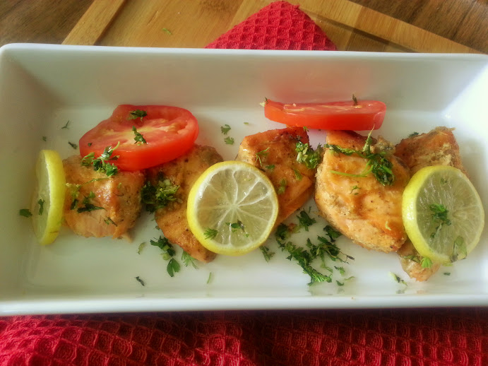 Lets Start Our Baked Salmon Recipe Indian Style
