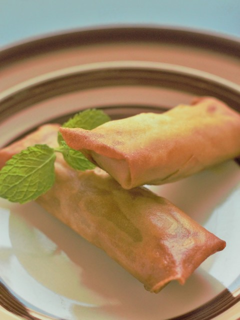 Veg Spring Roll Recipe, How to make Indian Vegetable spring roll