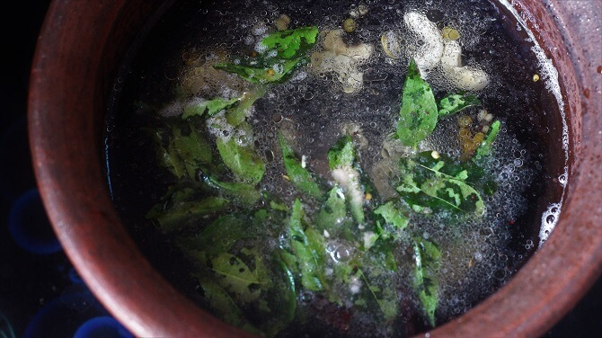 water added in the tempering for making rava upma recipe