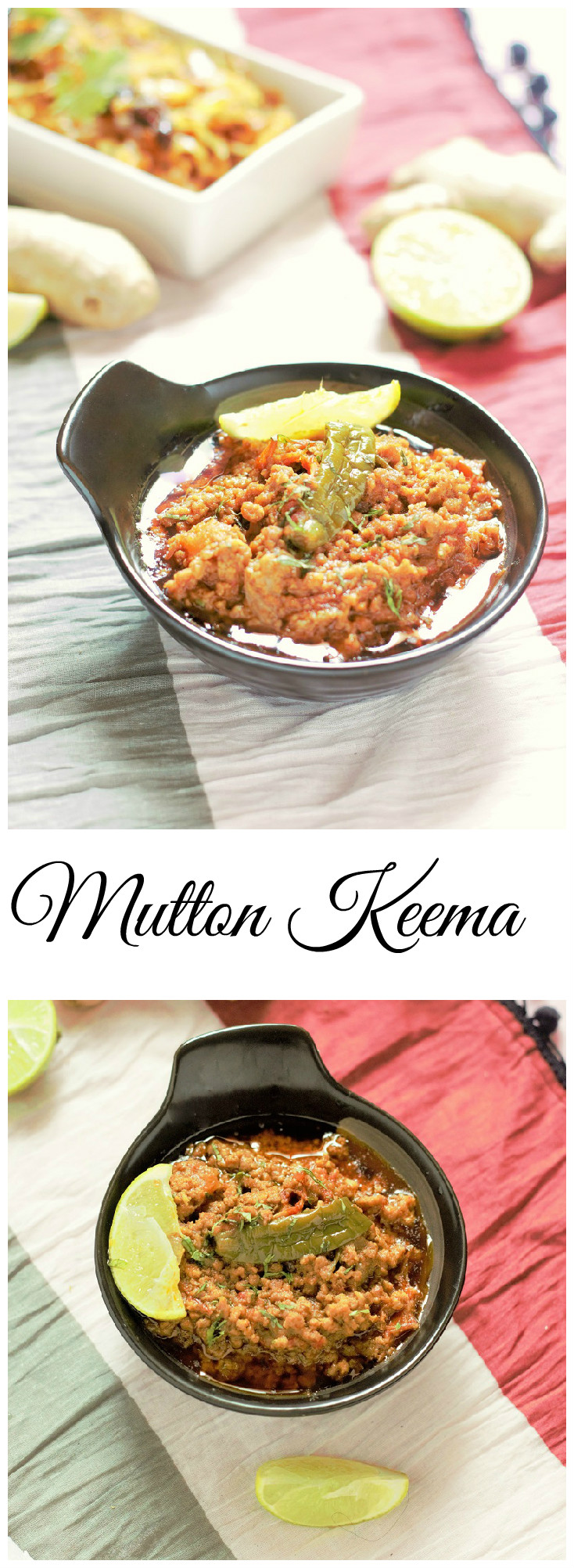 mutton keema recipe