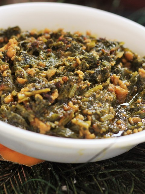 Keema Palak recipe, How to make keema palak