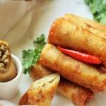 Chicken Spring Roll Recipe, How to make chicken spring roll