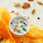 Nuts and Dry Fruit Raita Recipe-Blogger's Monthly Fiesta