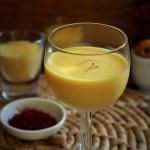 Saffron Badam Milk-Almond milk with saffron
