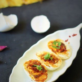 Egg Masala Dry Recipe-A simple and tasty Egg Masala Recipe that can be made in minutes.