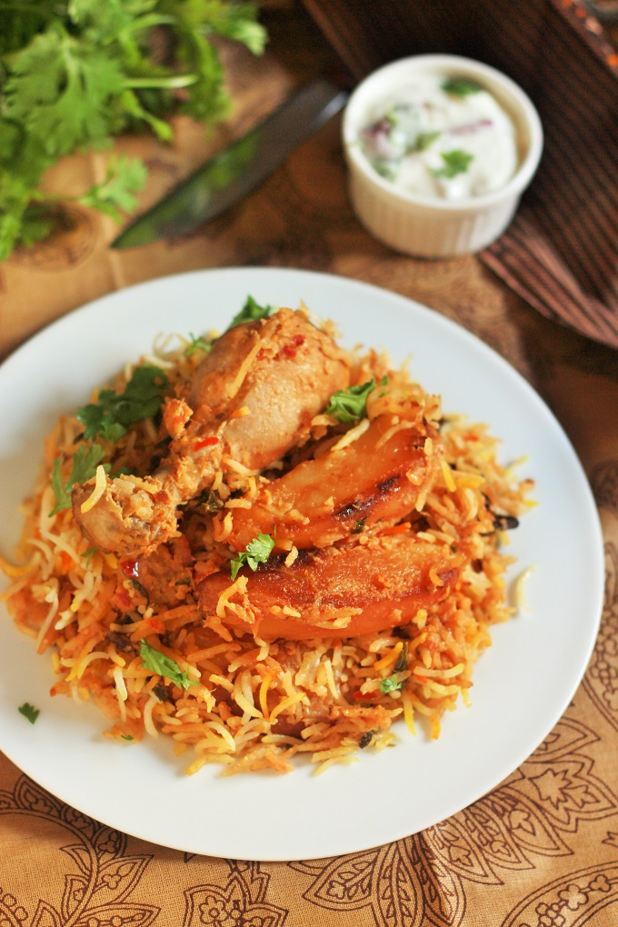 Pakistani Chicken Biryani Recipe-Chicken Biryani Pakistani ...