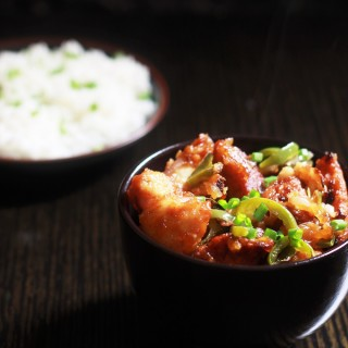 Chicken Manchurian Dry Recipe is a tasty and easy to make manchurian recipe. The coating for this chicken is perfect for frying. Strong flavor, but there's not an overpowering amount of it – just enough to coat the chicken which is all you need. And it's because the coating has such great flavor that you won't even bother with making the additional sauce and eat the pieces right away!
