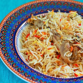Hyderabadi Chicken Biryani recipe, a very, very popular dish thoughout the world. If you are a biryani lover, I am sure you must have tasted or heard about it at least once. Made with exotic Indian spices, this recipe cannot be missed if you really want to get the real feel of the biryani.