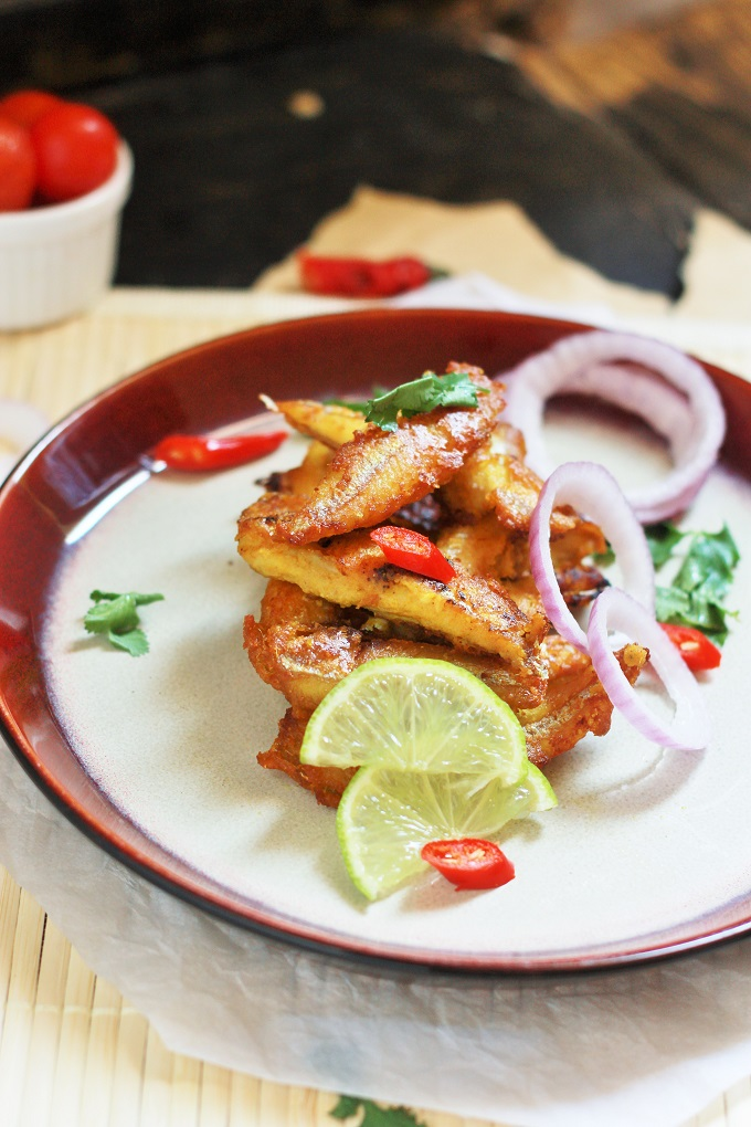 Kerala fish fry recipe meen varathathu recipe halaal recipes for Sides to bring to a fish fry