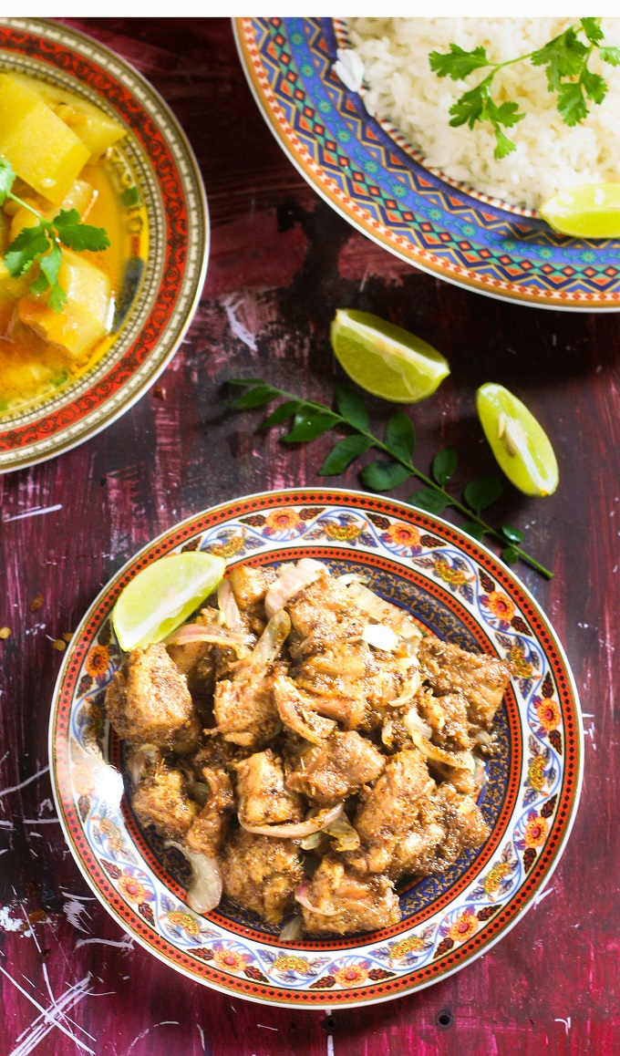 chettinad mutton varuval recipe is a very, very tasty mutton fry preparation and yet so amazingly simple. You can even try this with other meat too like the chicken and other non - veg varieties.