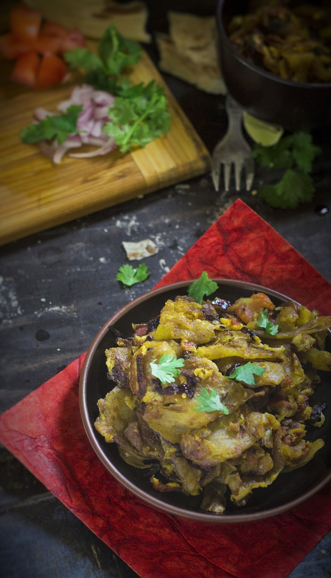 Kothu Parotta recipe will be your best friend when you have some left over parotta from the previous night. If you are in no mood to eat the parotta again, as it tends to become little hard over time, this dish will be the best leftover meal one can whip up with it.