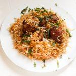 Pakistani Kofta Biryani Recipe, Meatball Biryani