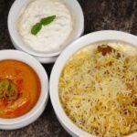 Hyderabadi Mutton Dum Biryani recipe, Gosht Dum Biryani