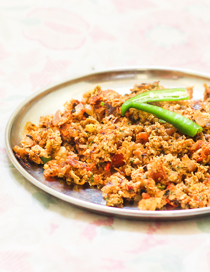 Dhaba Style Egg Bhurji is a very simple egg preparation which gets prepared in no time at all.