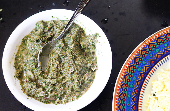 Pudina Chutney Recipe is a delicious chutney which goes very well with rice. Simple to make and yet so delicious, this chutney is truly unique.