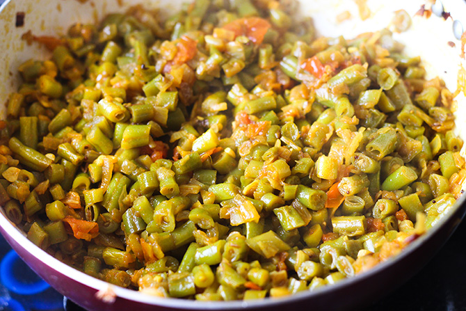 Beans Masala Sabji is a very simple, healthy, easy and tasty french beans recipe. Making this dish is so easy that you it will become one of your favorite.