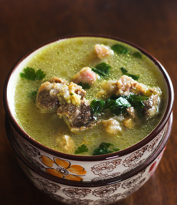 Kashmiri Mutton Yakhni Soup is a delightful soup that is simply easy and tasty at it's best.